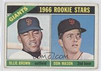 Ollie Brown, Don Mason [Good to VG‑EX]