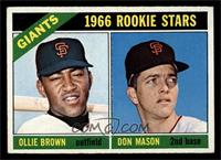 Ollie Brown, Don Mason [EX]