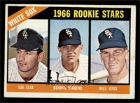White Sox Rookies (Lee Elia, Dennis Higgins, Bill Voss) [VG EX]