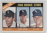 White Sox Rookies (Lee Elia, Dennis Higgins, Bill Voss)