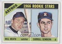 Bill Heath, Carroll Sembera
