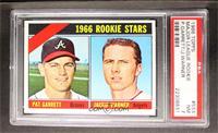 Rookie Stars (Pat Garrett, Jackie Warner) [PSA7]