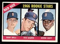 Red Sox Rookies (Guido Grilli, Pete Magrini, George Scott) [EX]