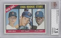 Red Sox Rookies (Guido Grilli, Pete Magrini, George Scott) [BVG 7.5]