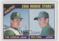 Athletics Rookie Stars (Paul Lindblad, Ron Stone)