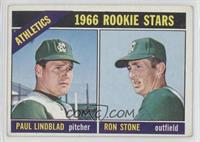 Athletics Rookie Stars (Paul Lindblad, Ron Stone) [Good to VG‑E…