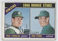 Athletics Rookie Stars (Paul Lindblad, Ron Stone) [Poor to Fair]