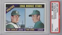 Athletics Rookies (Paul Lindblad, Ron Stone) [PSA 7]