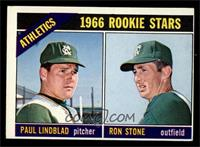 Athletics Rookies (Paul Lindblad, Ron Stone) [EX]