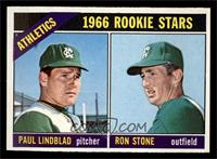 Athletics Rookies (Paul Lindblad, Ron Stone) [NM]
