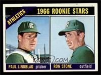 Athletics Rookies (Paul Lindblad, Ron Stone) [EX MT]
