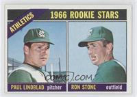 Athletics Rookies (Paul Lindblad, Ron Stone)