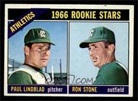 Athletics Rookies (Paul Lindblad, Ron Stone) [EX]