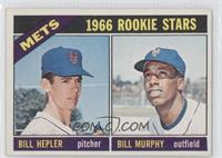 Mets Rookies (Bill Hepler, Billy Murphy)