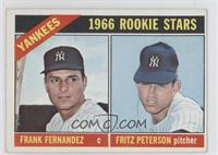 Yankees Rookies (Frank Fernandez, Fritz Peterson) [Good to VG‑E…