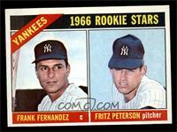 Yankees Rookies (Frank Fernandez, Fritz Peterson) [NM]