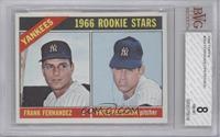 Yankees Rookies (Frank Fernandez, Fritz Peterson) [BVG8]