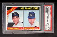 Yankees Rookies (Frank Fernandez, Fritz Peterson) [PSA8]