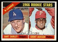 N. League Rookies (Bart Shirley, Grant Jackson) [EX]