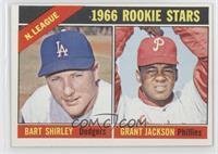N. League Rookies (Bart Shirley, Grant Jackson)