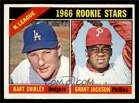 N. League Rookies (Bart Shirley, Grant Jackson) [EX MT]