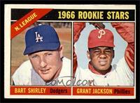 N. League Rookies (Bart Shirley, Grant Jackson) [EX]