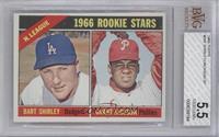 N. League Rookies (Bart Shirley, Grant Jackson) [BVG5.5]