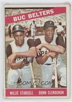 Willie Stargell, Donn Clendenon [Good to VG‑EX]
