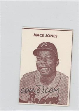 1967 Irvindale Dairy Atlanta Braves #N/A - Mack Jones