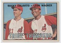 Tribe Thumpers (Rocky Colavito, Leon Wagner) [Good to VG‑EX]