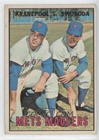 Ed Kranepool, Ron Swoboda [Poor to Fair]