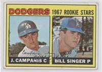 Jimmy Campanis, Bill Singer [Good to VG‑EX]