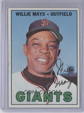 1967 Topps - [Base] #200 - Willie Mays