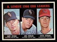 A. League ERA Leaders (Gary Peters, Joel Horlen, Steve Hargan) [NMMT]