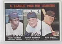 A. League RBI Leaders (Frank Robinson, Harmon Killebrew, Boog Powell) [Good&nbs…