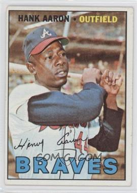 1967 Topps - [Base] #250 - Hank Aaron