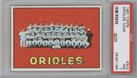 Baltimore Orioles Team [PSA7]