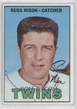 1967 Topps - [Base] #446 - Russ Nixon