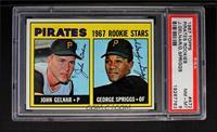 Pirates Rookie Stars (John Gelnar, George Spriggs) [PSA8]