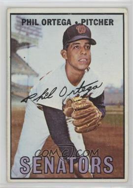 1967 Topps - [Base] #493 - Phil Ortega [GoodtoVG‑EX]
