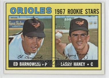 1967 Topps - [Base] #507 - Ed Barnowski, Larry Haney