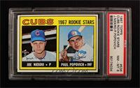 Joe Niekro, Paul Popovich [PSA 8]