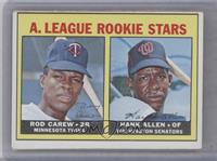 A. League Rookie Stars (Rod Carew, Hank Allen) [Good to VG‑EX]