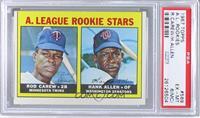 A. League Rookie Stars (Rod Carew, Hank Allen) [PSA6(MC)]