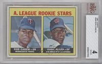 A. League Rookie Stars (Rod Carew, Hank Allen) [BVG4]