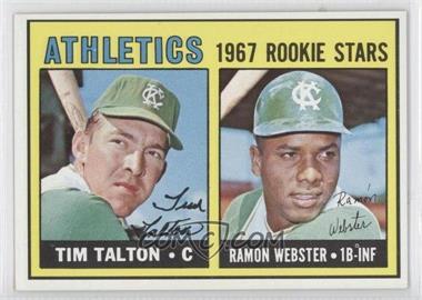 1967 Topps - [Base] #603 - Tim Talton, Ray Webster