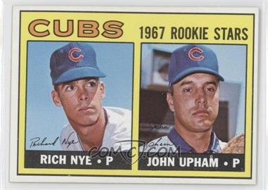1967 Topps - [Base] #608 - Rich Nye, John Upham