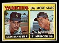 1967 Rookie Stars (Stan Bahnsen, Bobby Murcer) [NM]