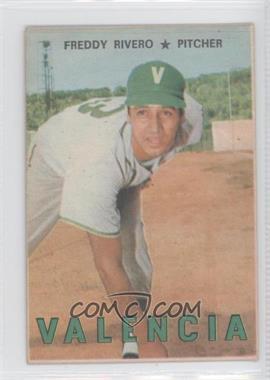 1967 Topps Venezuelan #110 - Freddy Rivero