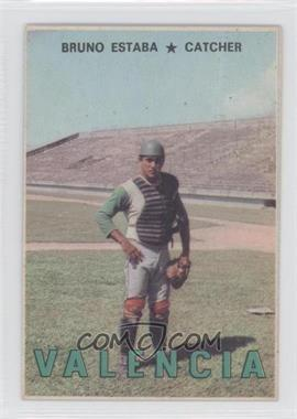 1967 Topps Venezuelan #113 - Bruno Estaba